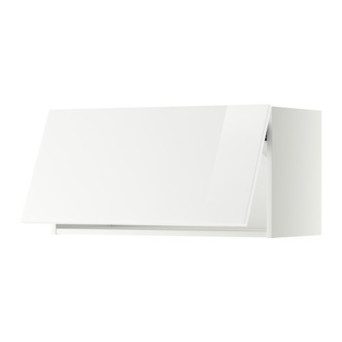 IKEA METOD wall cabinet horizontal Door lift with catch for gentle closing included.