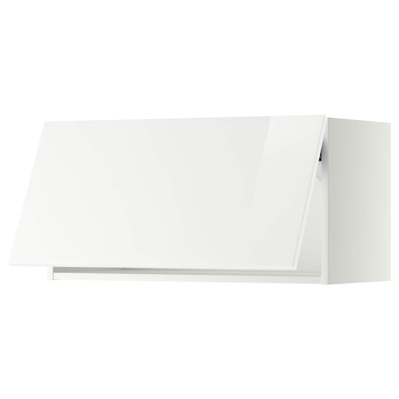 ikea horizontal kitchen cabinets metod wall cabinet horizontal white ringhult white 80 x 40 17603