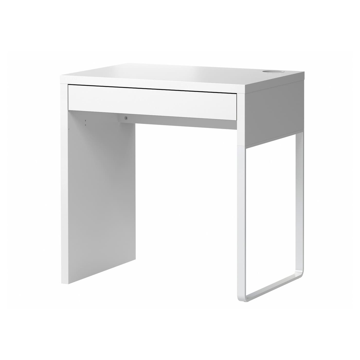 IKEA MICKE desk You can mount the legs to the right or left, according to your space or preference.