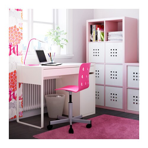 Ikea micke desk drawer stops prevent the drawers from - Bureau fille ikea ...