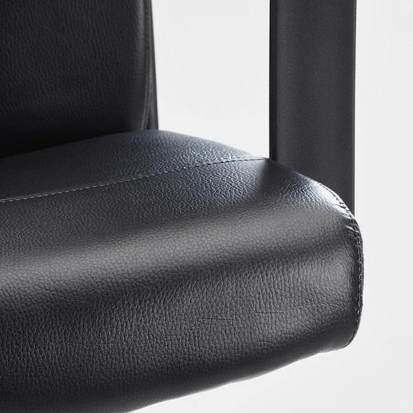 MILLBERGET Swivel chair, Bomstad black