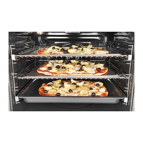 IKEA MIRAKULÖS forced air oven 5 year guarantee. Read about the terms in the guarantee brochure.