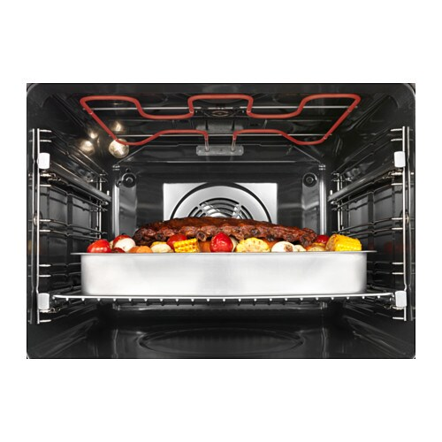 IKEA MIRAKULÖS forced air oven w pyrolytic funct