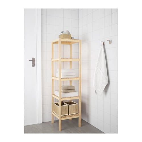 ikea molger shelving unit the open shelves give an easy overview and