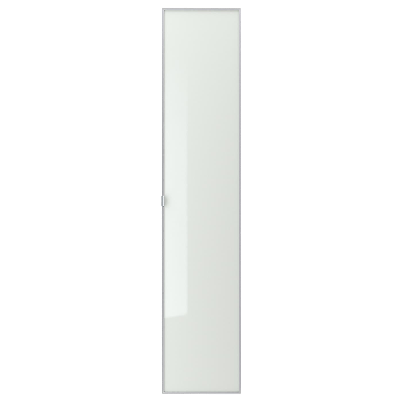 IKEA MORLIDEN glass door Adjustable hinges allow you to adjust the door horizontally and vertically.