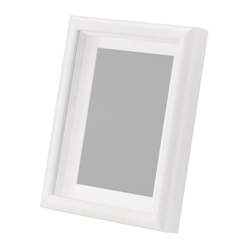 Mossebo frame white 13x18 cm ikea - Cadre photo grand format ikea ...