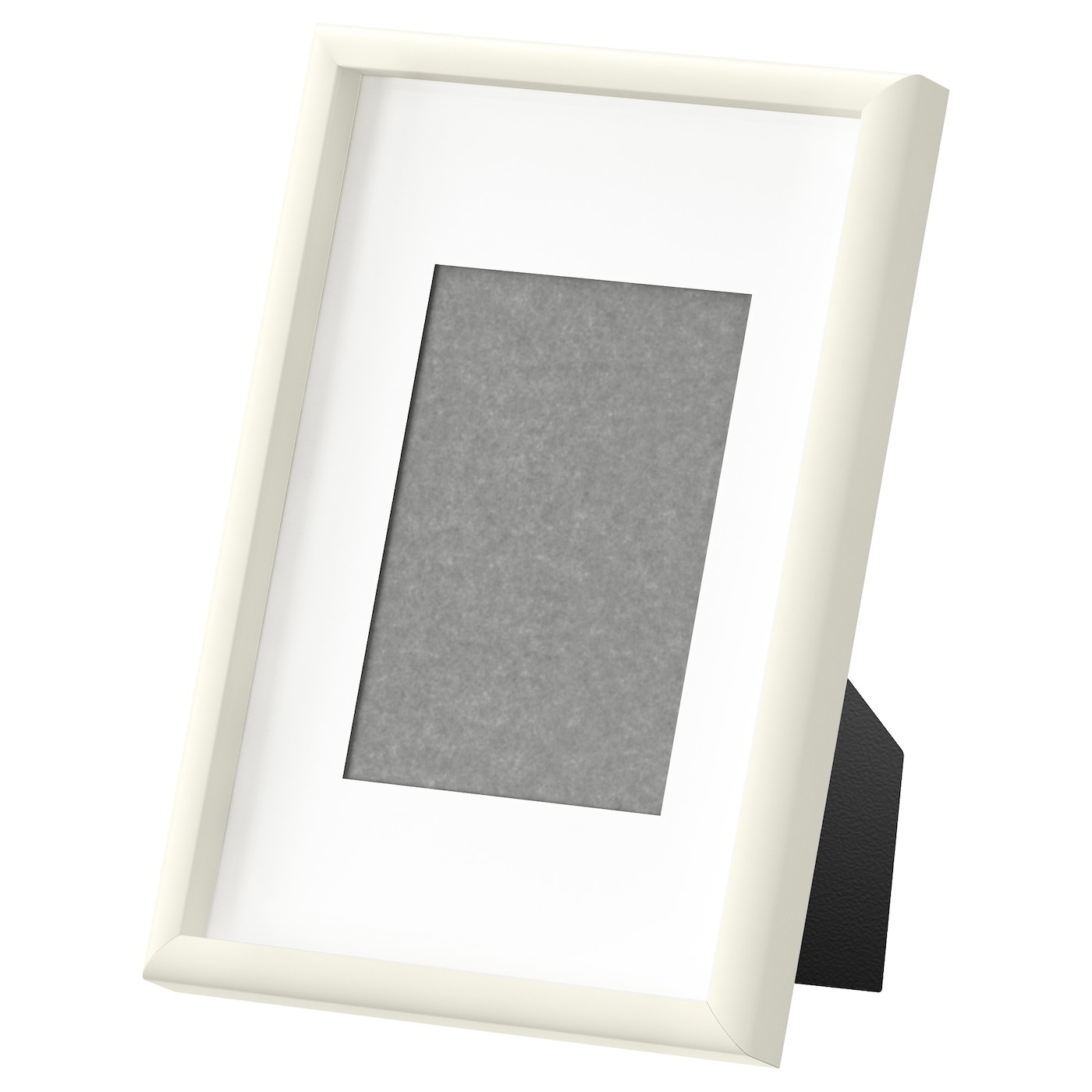 IKEA MOSSEBO frame PH-neutral mount; will not discolour the picture.