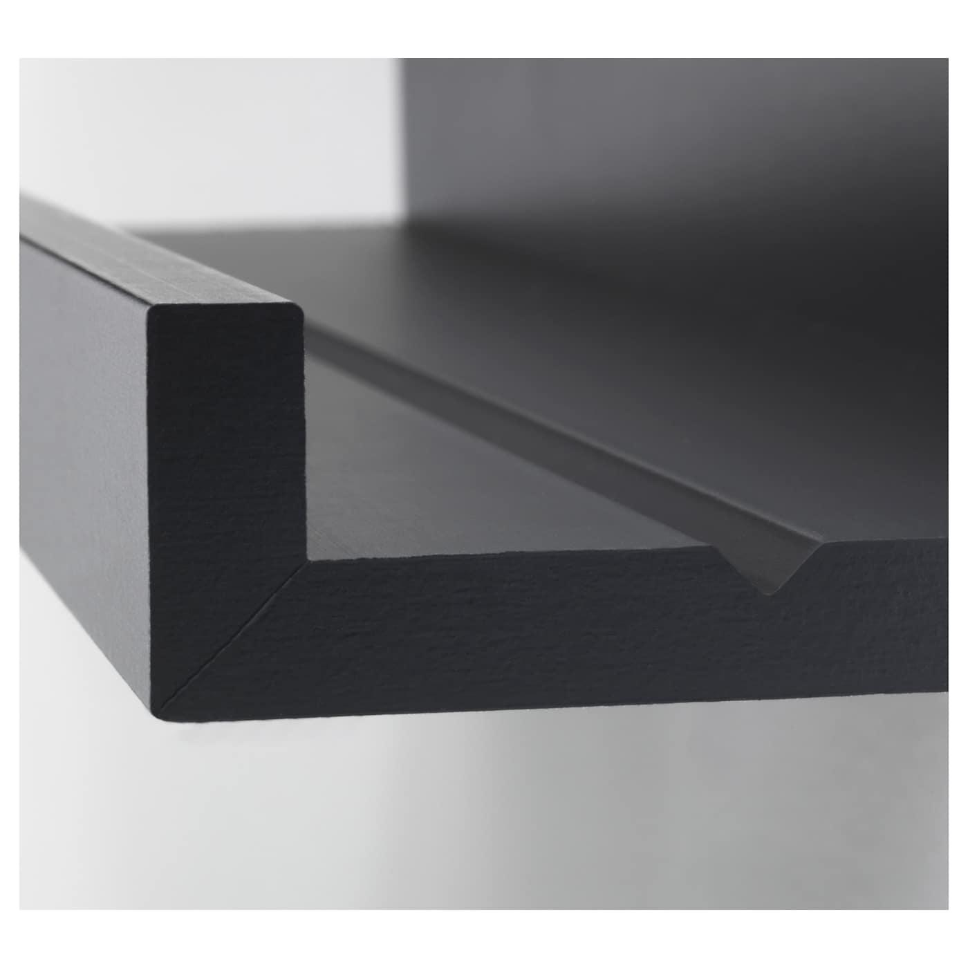 Mosslanda Picture Ledge Black 115 Cm Ikea