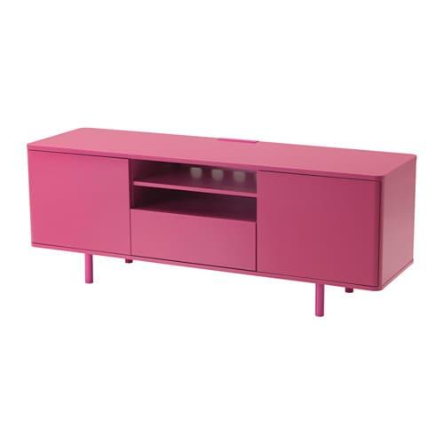 Mostorp Tv Bench Pink 159x46 Cm Ikea