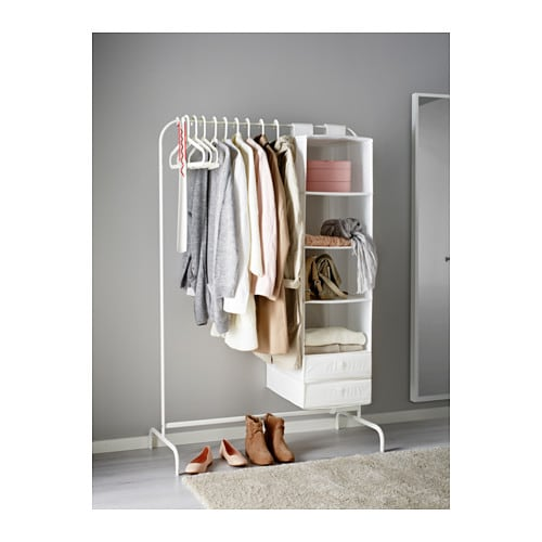 mulig clothes rack white 99x46 cm ikea. Black Bedroom Furniture Sets. Home Design Ideas