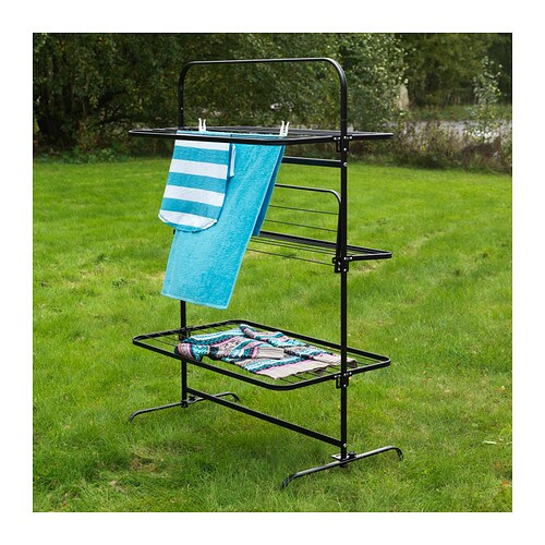 ikea mulig drying rack 3 levels in outdoor suitable for. Black Bedroom Furniture Sets. Home Design Ideas