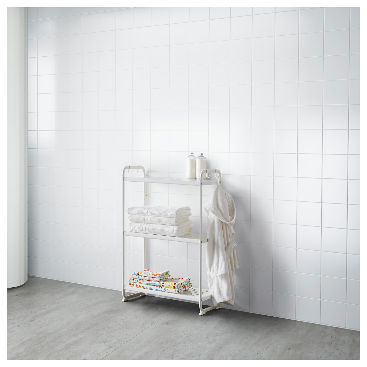 mulig shelving unit white 58x34x90 cm ikea. Black Bedroom Furniture Sets. Home Design Ideas