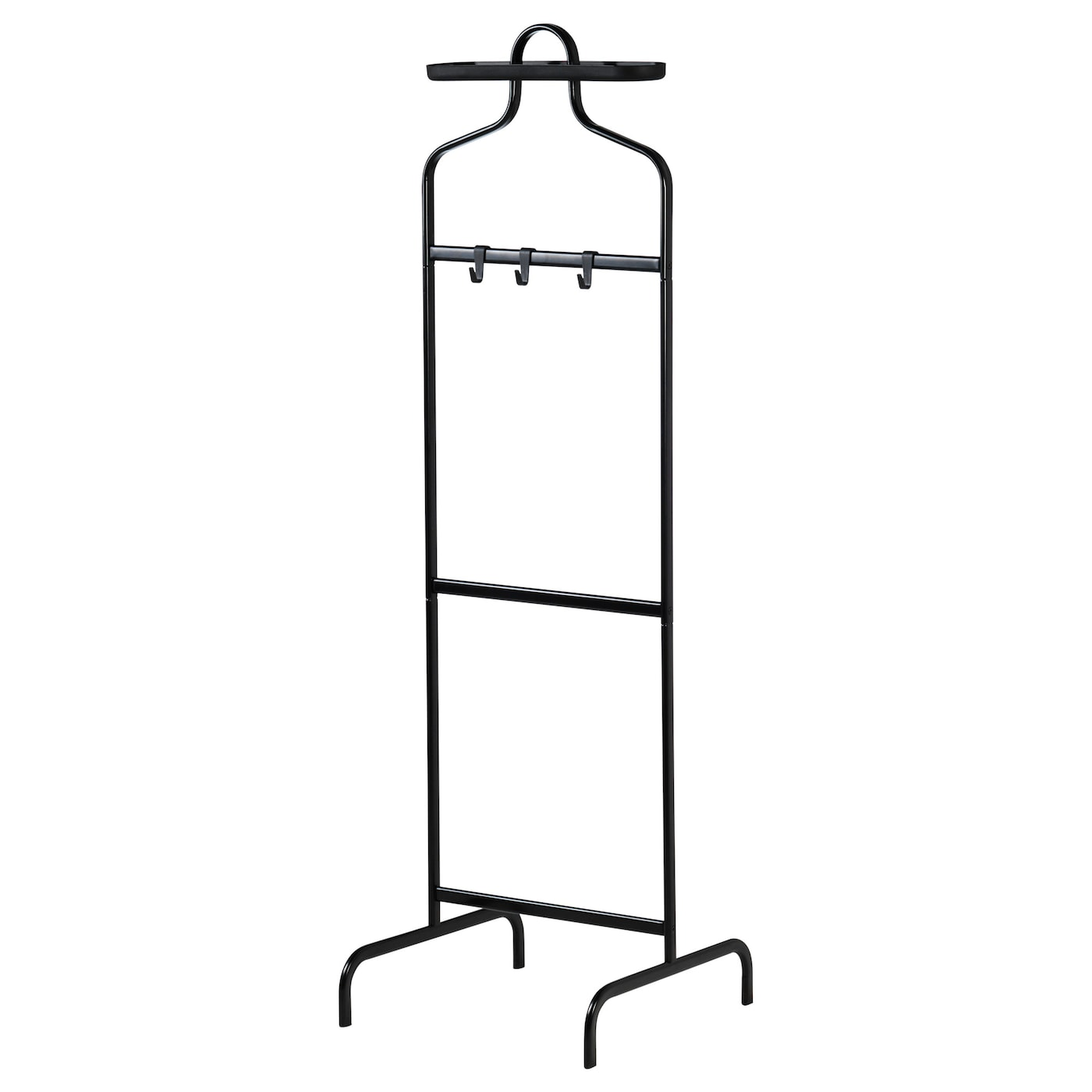 ikea mulig valet stand can be mounted at two different heights