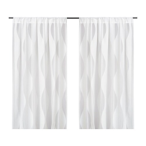 IKEA MURRUTA net curtains, 1 pair