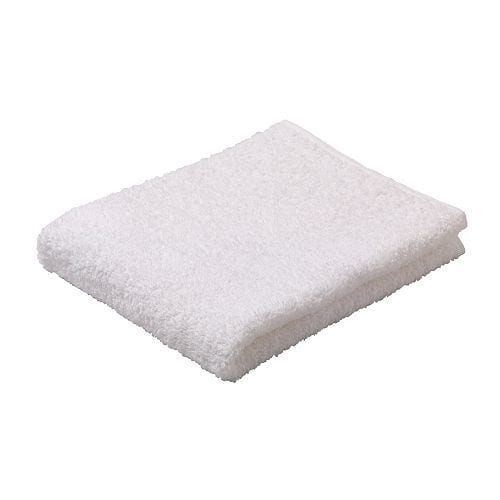 IKEA NÄCKTEN guest towel A terry towel that is soft and absorbent (weight 320 g/m²).