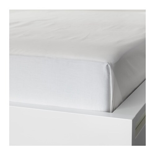 IKEA NATTJASMIN sheet Fits beds that are 80-90 cm wide.