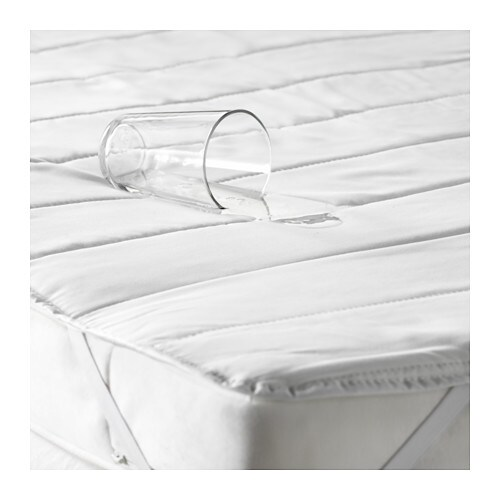 nattlig waterproof mattress protector white 70x160 cm ikea. Black Bedroom Furniture Sets. Home Design Ideas