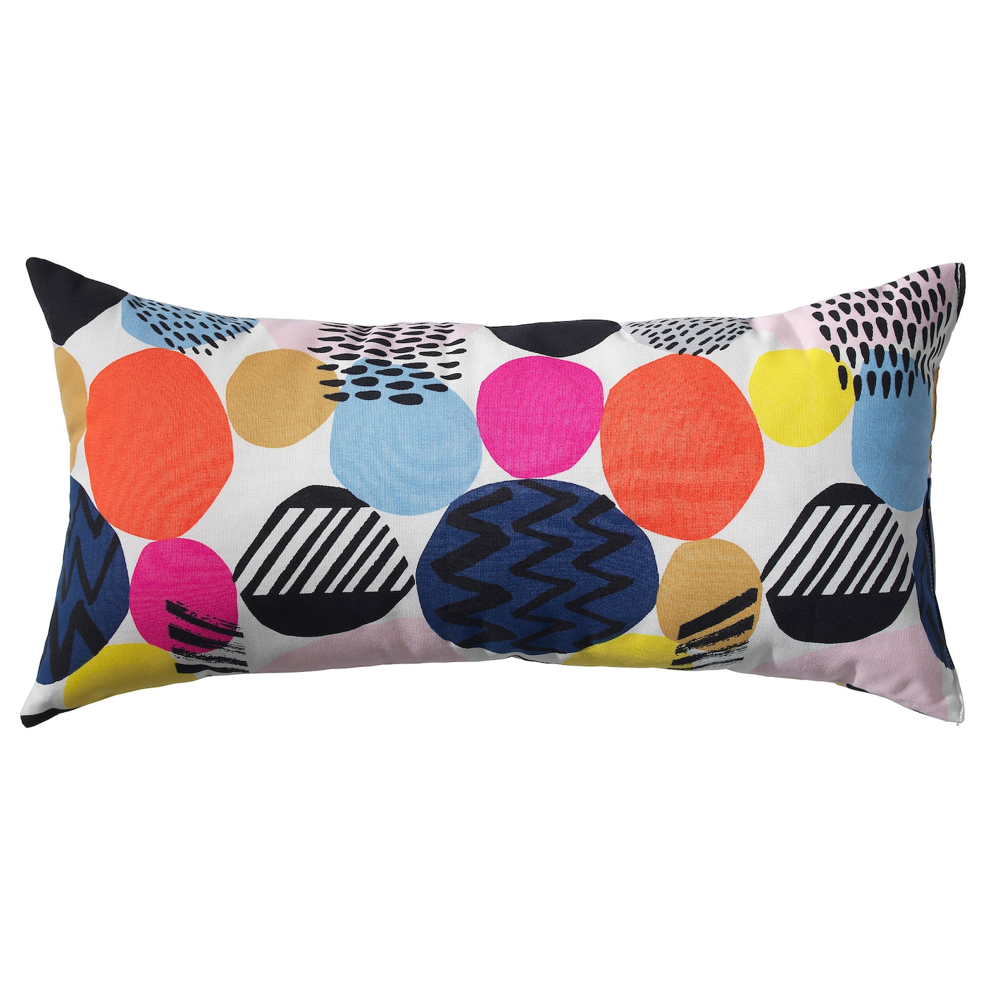 IKEA NEDJA cushion The polyester filling holds its shape and gives your body soft support.