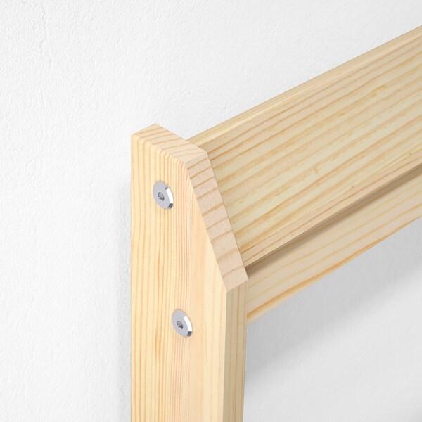 NEIDEN Bed frame, pine, Standard Double