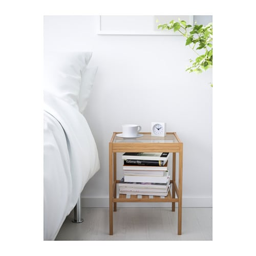 Nesna bedside table 36x35 cm ikea - Ikea table appoint ...