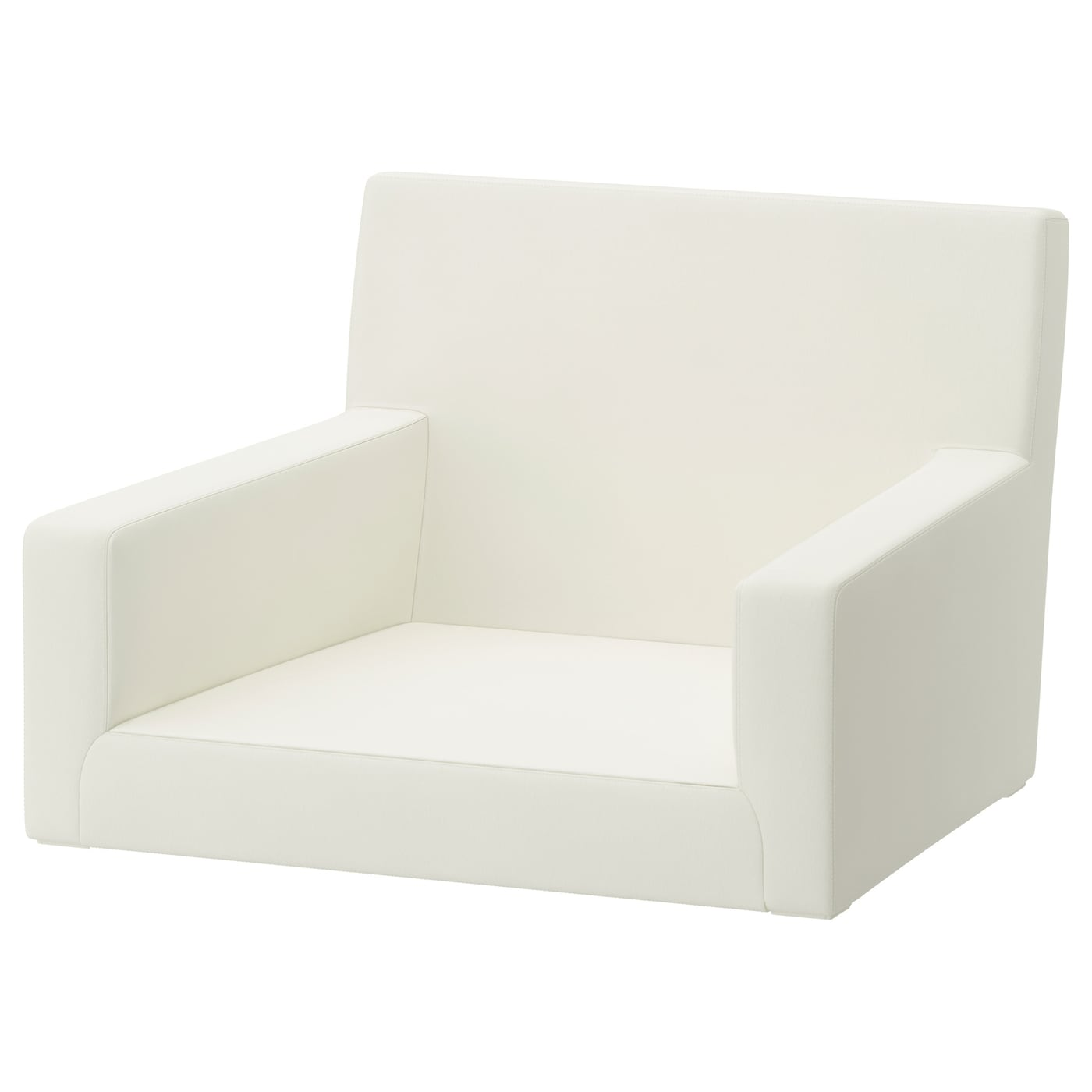 IKEA NILS cover for chair with armrests Machine washable cover; easy to keep clean.