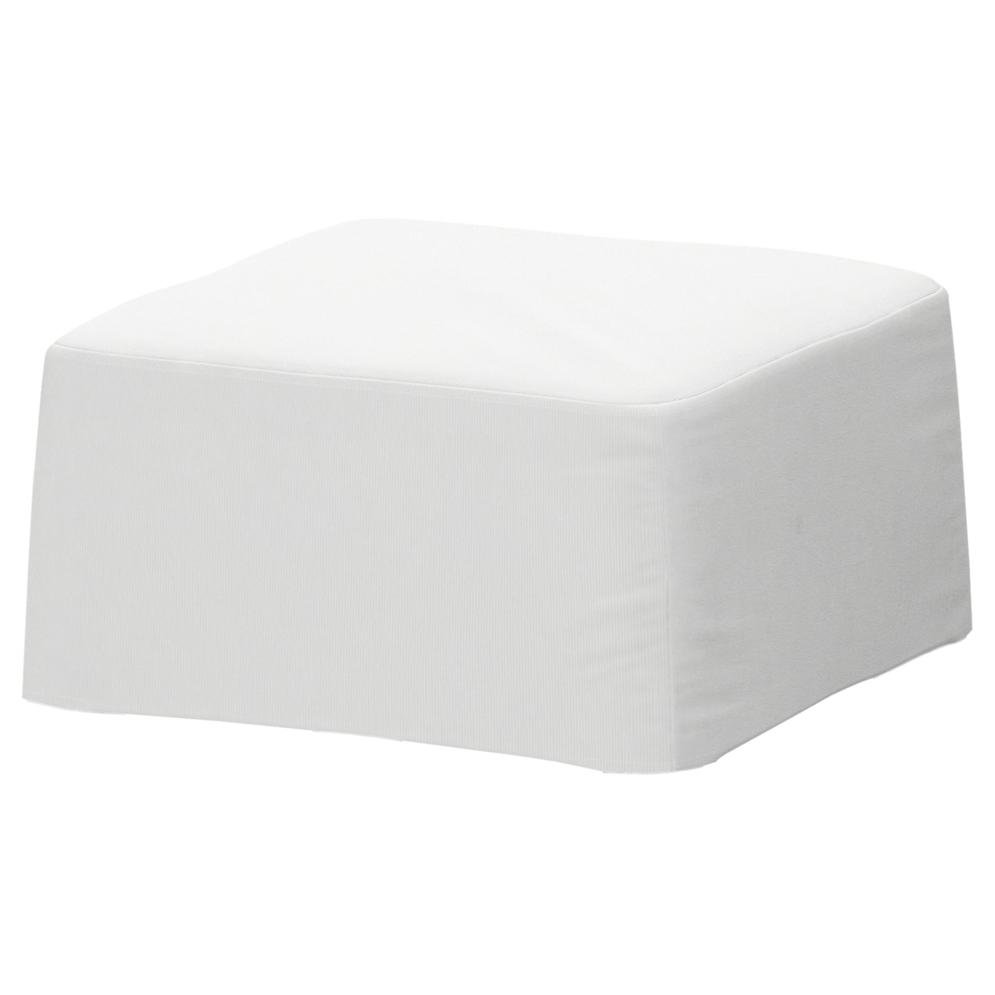 NILS Stool cover Blekinge white   IKEA