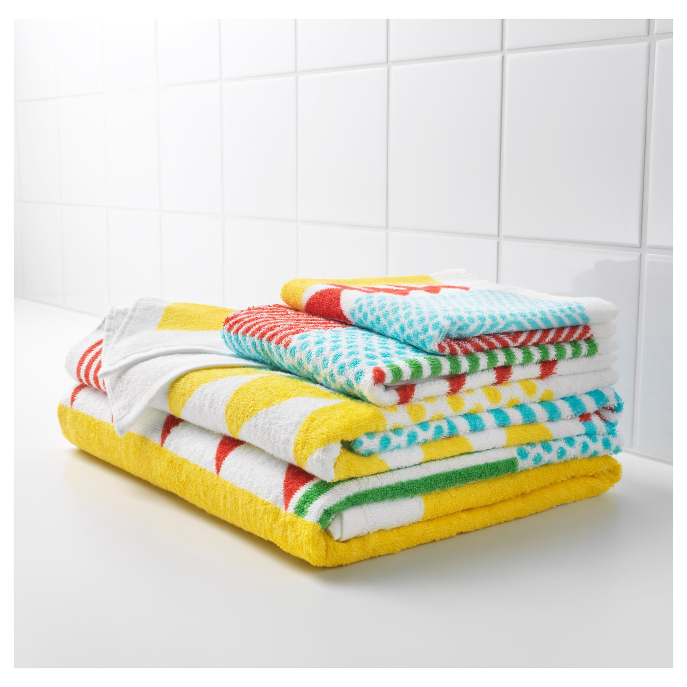 IKEA NIMMERN bath towel A terry towel that is soft and absorbent (weight 380 g/m²).