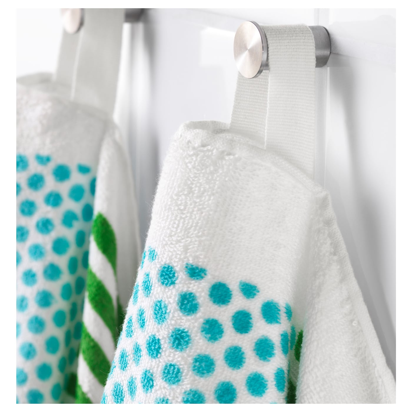 IKEA NIMMERN washcloth A terry towel that is soft and absorbent (weight 380 g/m²).