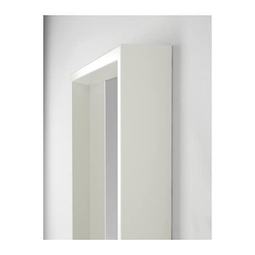 nissedal mirror white 40x150 cm ikea