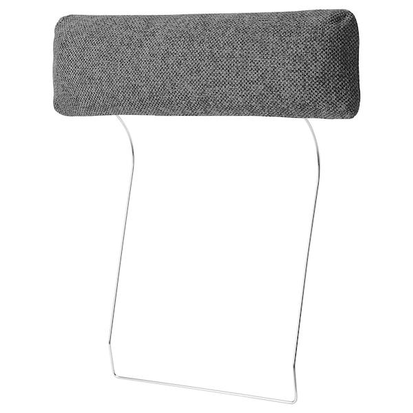 NOCKEBY headrest Lejde dark grey 70 cm 20 cm 13 cm