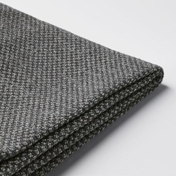NOCKEBY cover three-seat sofa Lejde dark grey
