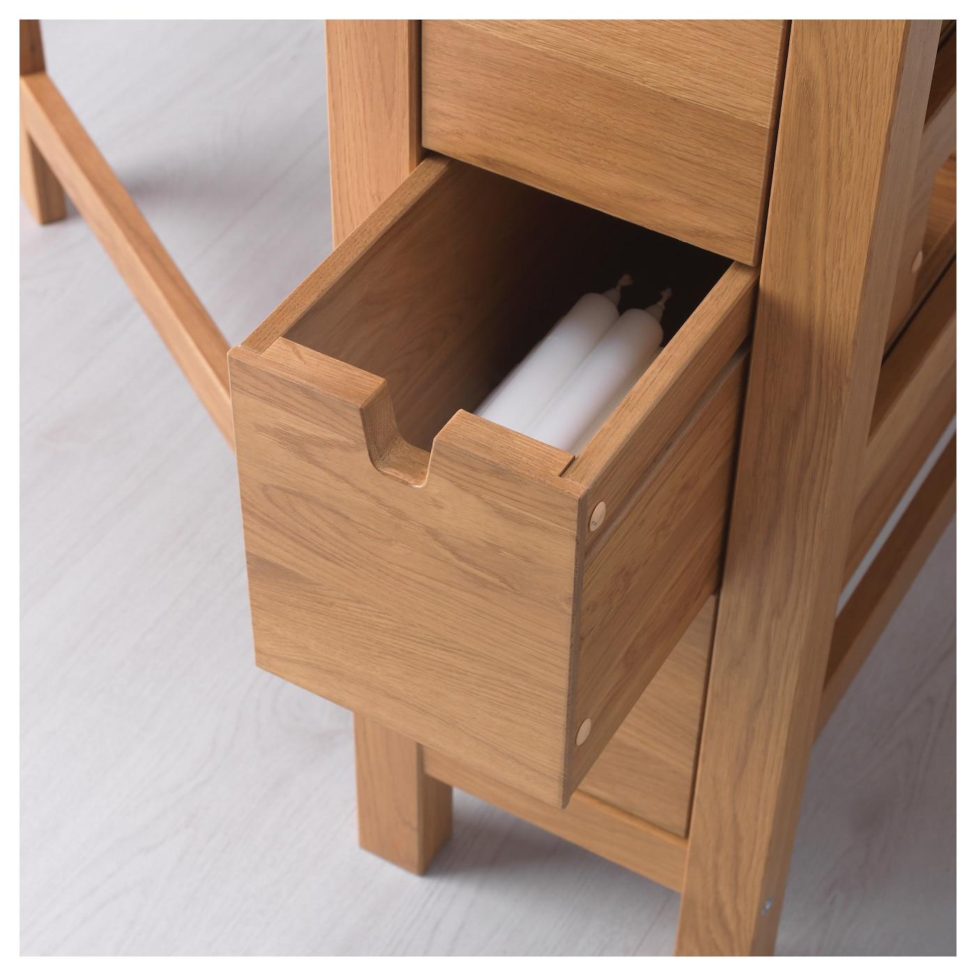 Ikea norden gateleg table solid wood is a hardwearing natural material - Norden Gateleg Table Oak 26 89 152x80 Cm Ikea