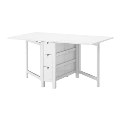 NORDEN Gateleg table White 2689152x80 cm IKEA : norden gateleg table white0099630pe241792s4 from ikea.com size 500 x 500 jpeg 7kB