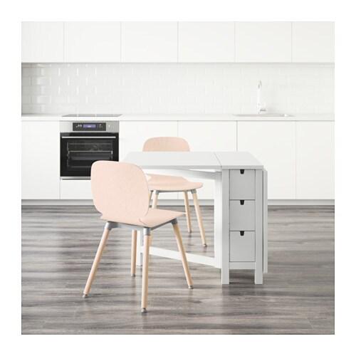 Table bois ikea norden for Table exterieur ikea bois