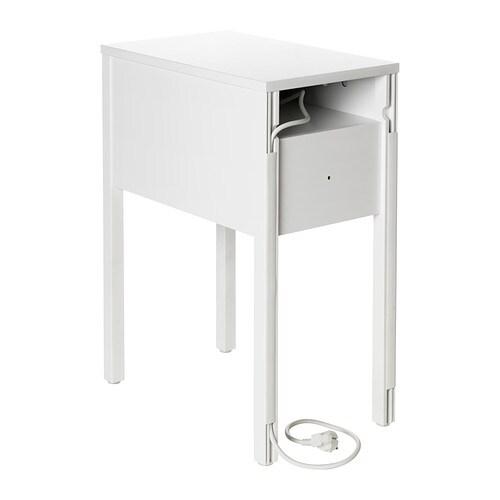 Nordli bedside table white 30x50 cm ikea - Mini table de chevet ...