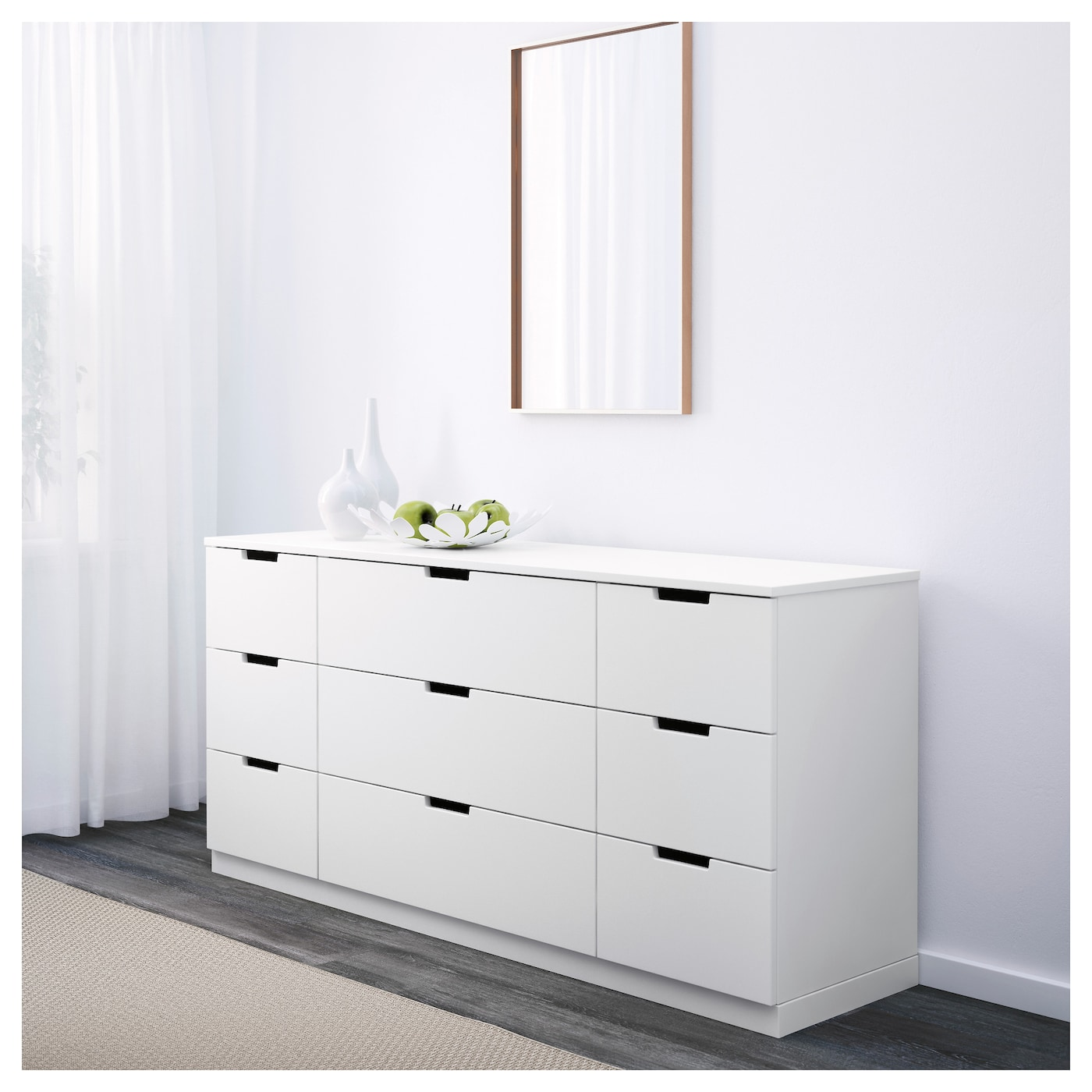 NORDLI Chest Of Drawers White X Cm IKEA - Ikea chest of drawers
