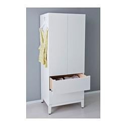 Nordli wardrobe white 72x58x181 cm ikea - Letto nordli ikea ...