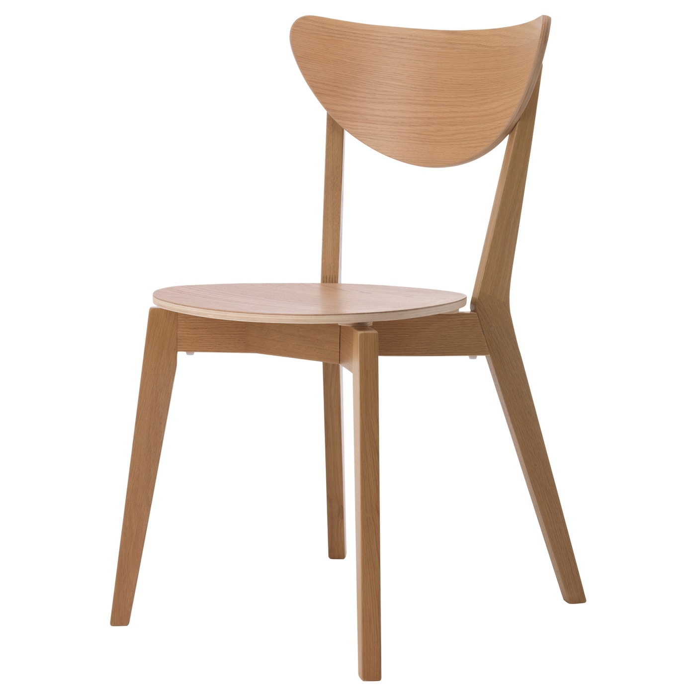 Ikea Nordmyra Chair You Can Stack The Chairs So They Take Less E When