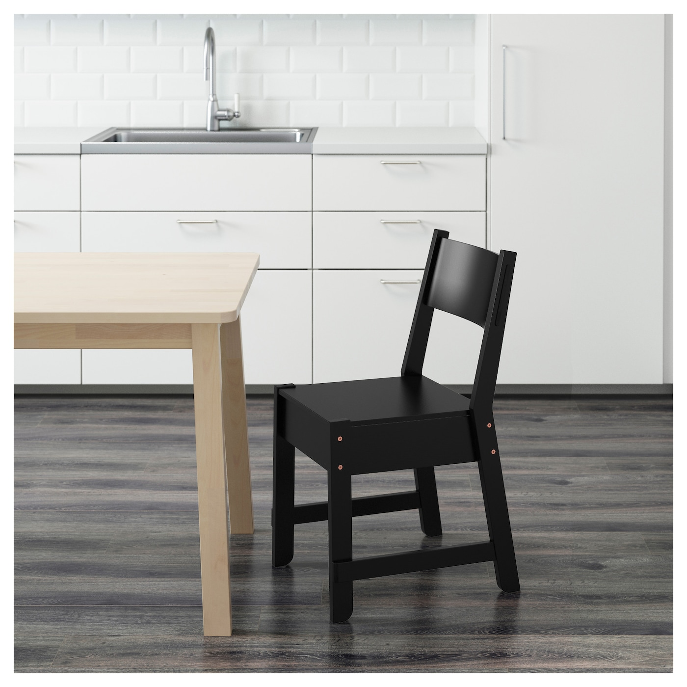 NORR…KER Chair Black IKEA