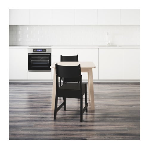 IKEA NORRÅKER/NORRÅKER table and 2 chairs
