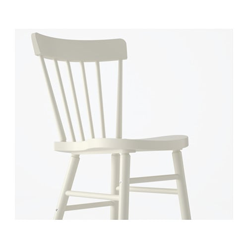 IKEA NORRARYD chair You sit comfortably thanks to the chair's shaped back and seat.
