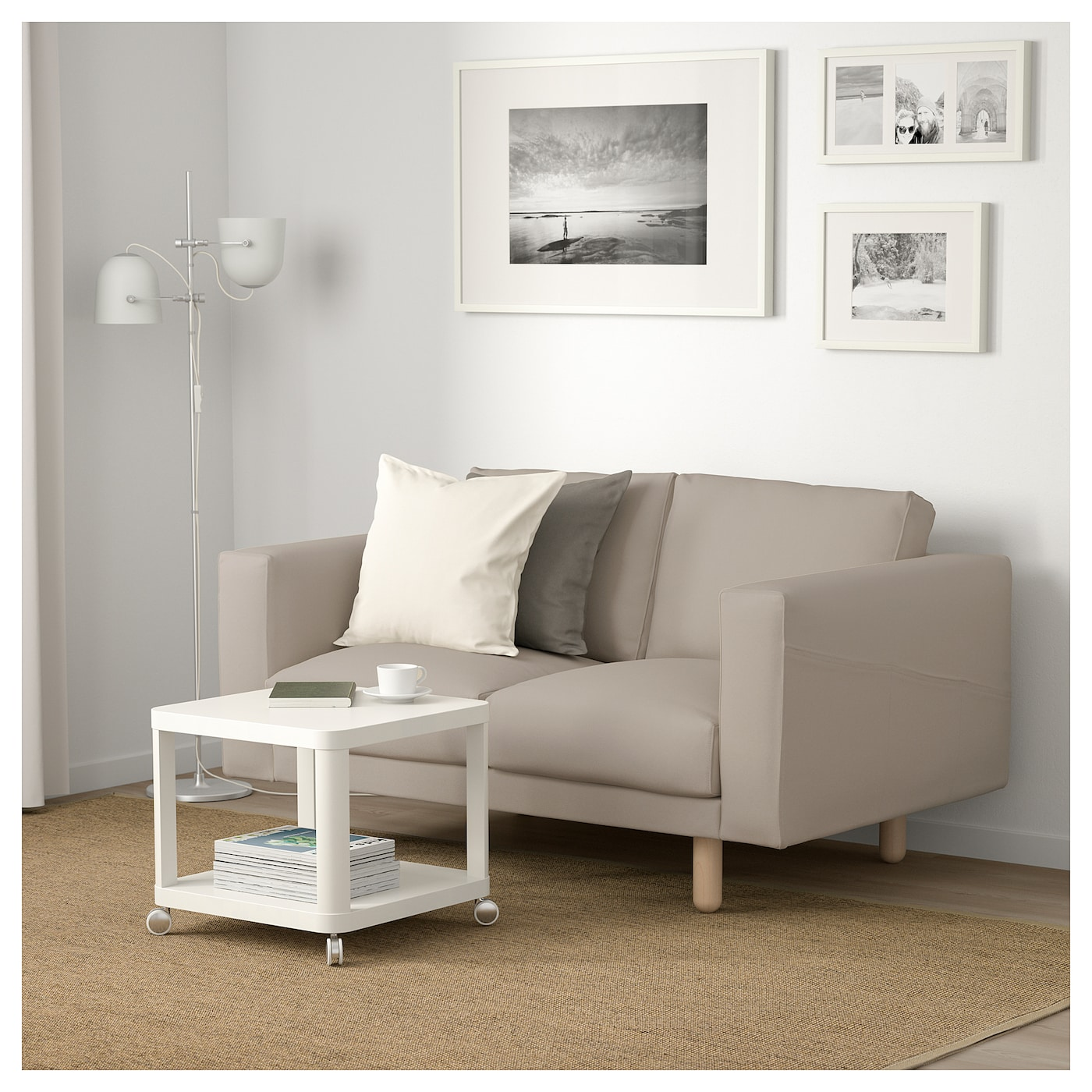 IKEA NORSBORG 2-seat sofa 10 year guarantee. Read about the terms in the guarantee brochure.