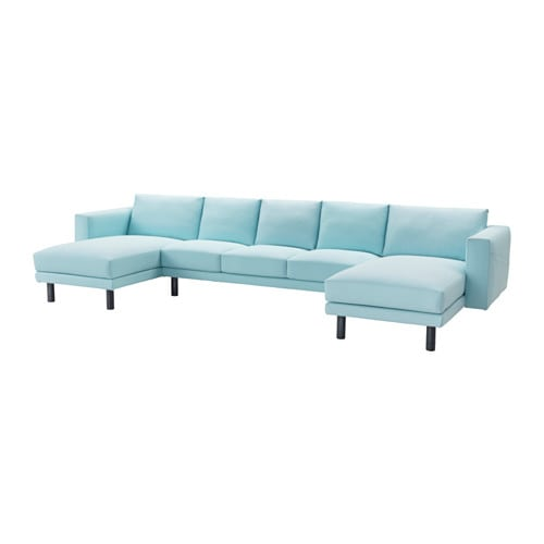 IKEA NORSBORG 3-seat sofa with 2 chaise longues