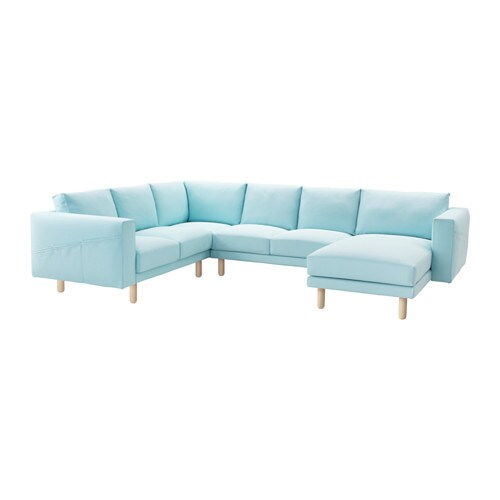 IKEA NORSBORG corner sofa 2+2 with chaise longue
