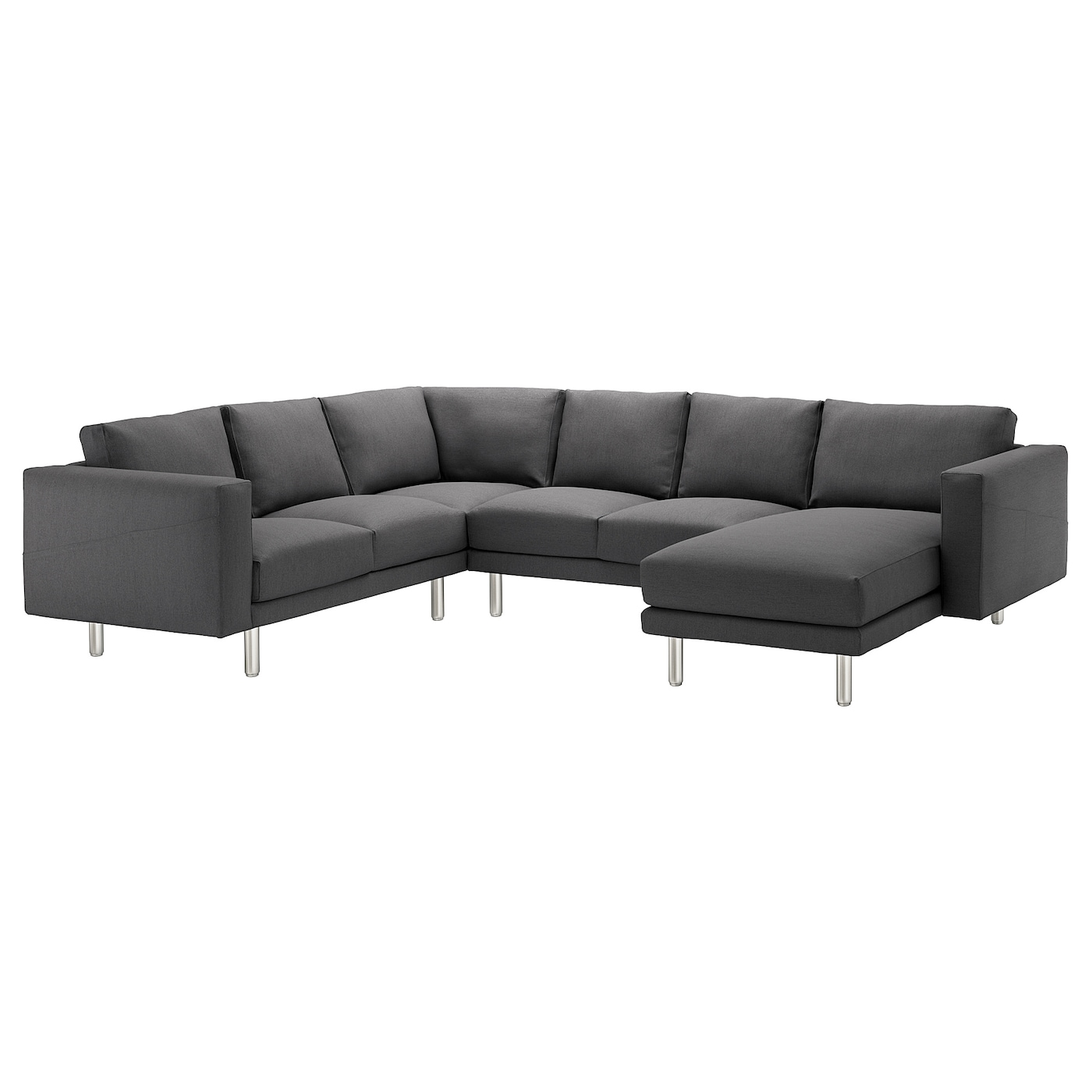 Norsborg corner sofa 5 seat with chaise longue finnsta for 5 seater sofa with chaise