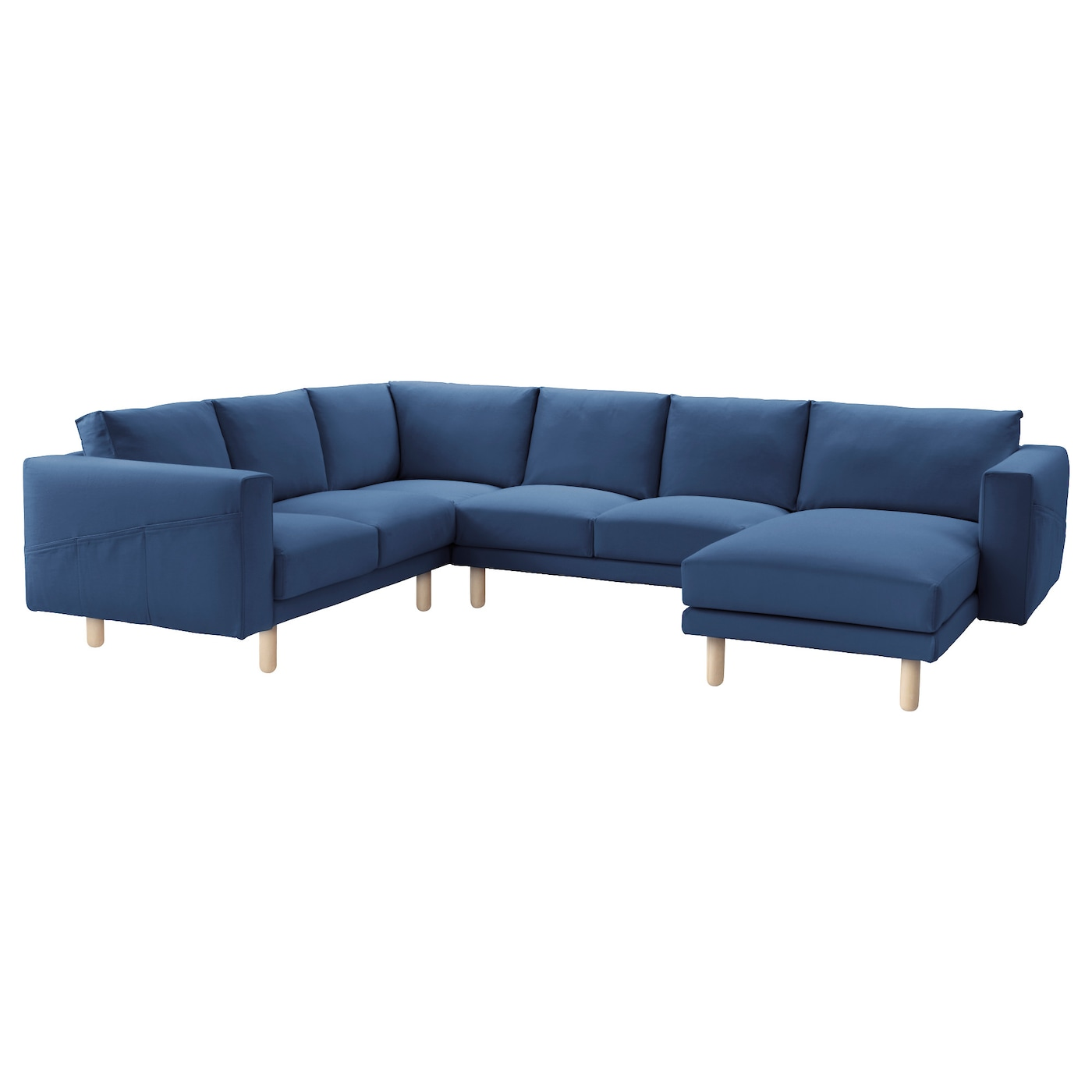 NORSBORG Cover corner sofa 2 2 chaise longue Gräsbo dark blue IKEA