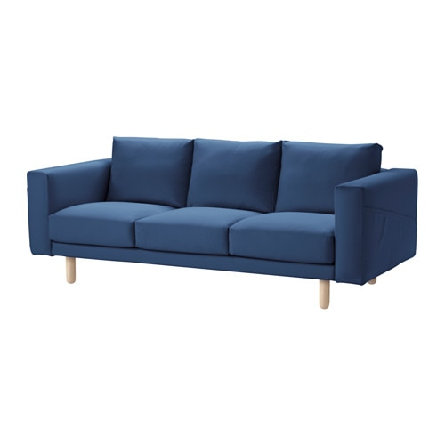 IKEA NORSBORG three-seat sofa 10 year guarantee. Read about the terms in the guarantee brochure.