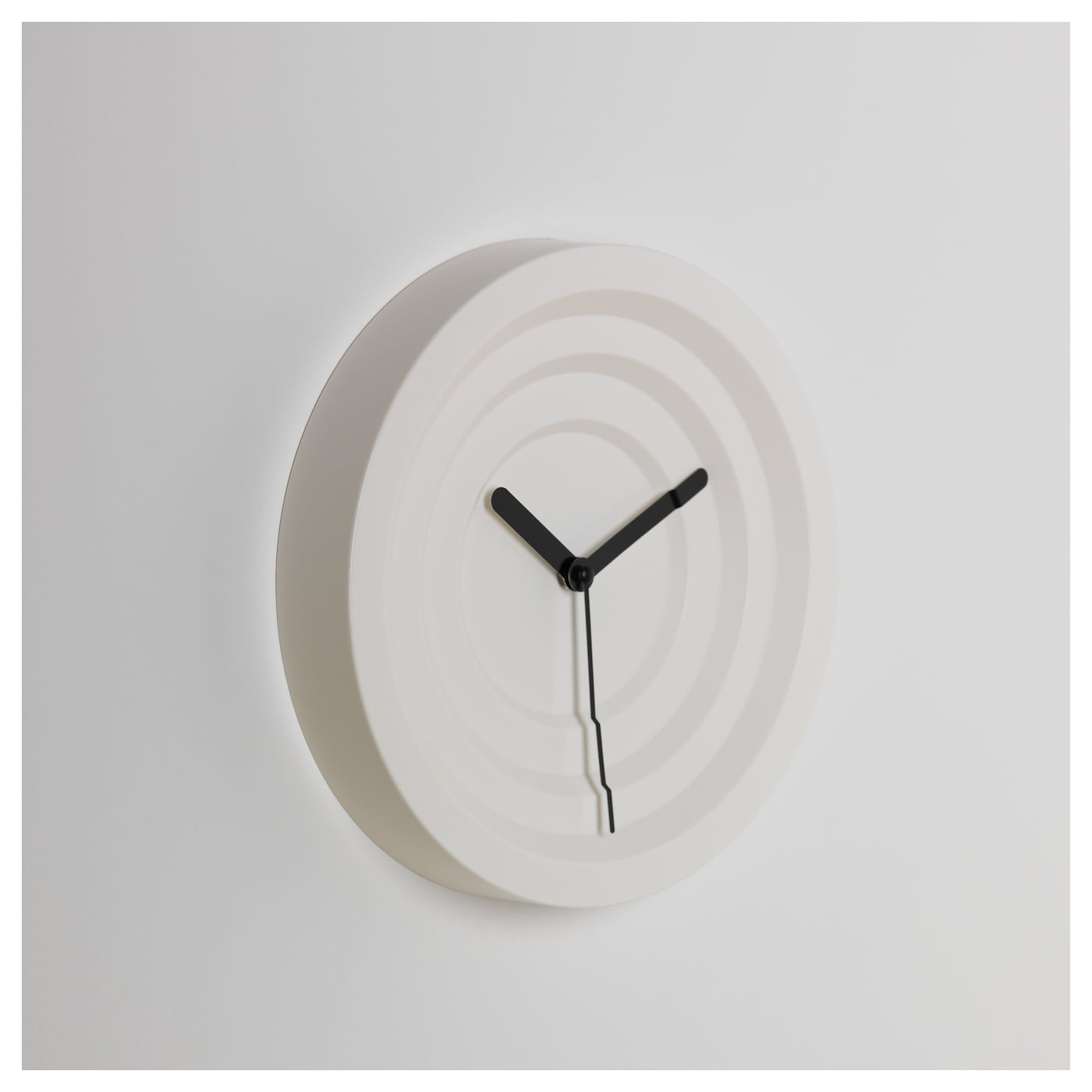 IKEA NYLLE wall clock Silent clock, the pointers move without a sound.