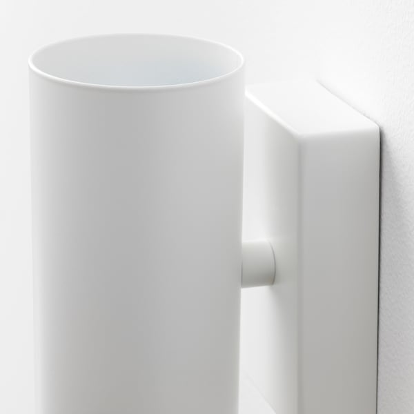 NYMÅNE Wall up/downlighter, wired-in, white