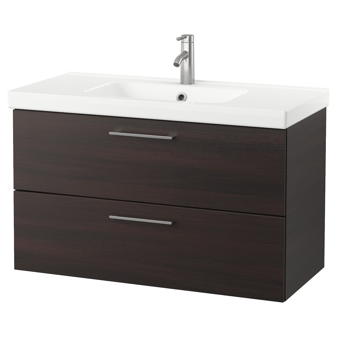 brown bathroom furniture. IKEA ODENSVIK/GODMORGON Wash-stand With 2 Drawers Brown Bathroom Furniture S
